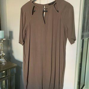 BCBGMaxazria Brown Dress